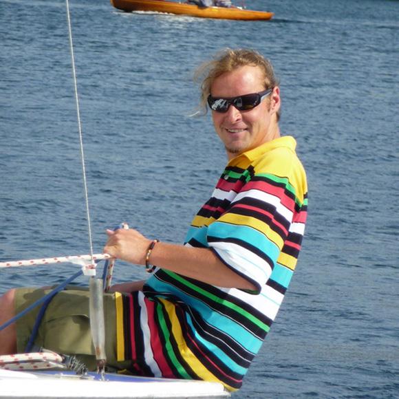 """David """"Dave"""", Ausbildungsleiter, Bootscharter und Yachtservice"""